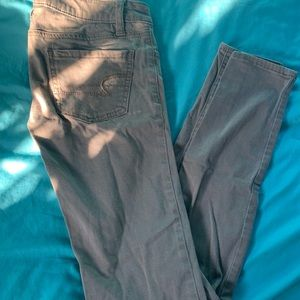 Tan Super Stretch Pants
